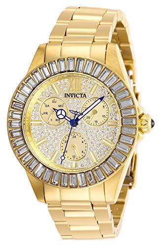 Invicta 28448 Angel Orologio da Donna acciaio inossidabile Quarzo quadrante oro