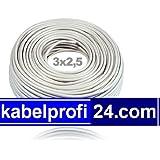 Mantelleitung NYM-J 3x2,5mm² -25m Ring- NYMJ