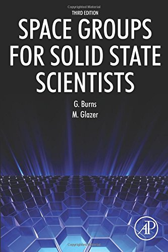 Space Groups for Solid State Scientists por Michael Glazer