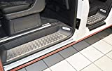 WGS-Shop WGS Alu Riffelblech Trittbretter Trittschutz mit Abkantung EXTRA ROBUST (2054-506)