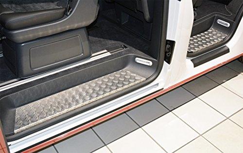 Preisvergleich Produktbild WGS Alu Riffelblech Trittbretter Trittschutz mit Abkantung EXTRA ROBUST (2055-506)