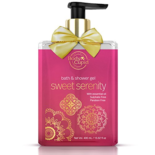 Body Cupid Sweet Serenity Luxury Shower Gel - Pure Shea Butter for Soothing & Smoothing Skincare - No Sulphates No Paraben - 400 ML