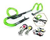 Exost loop - 2 Infinite Racing Set - 27 Tubes Circuit Modulables + 2 Voitures - Couleur  Vert