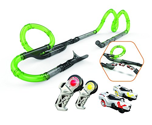 Exost loop - 2 Infinite Racing Set - 27 Tubes Circuit Modulables + 2 Voitures - Couleur...