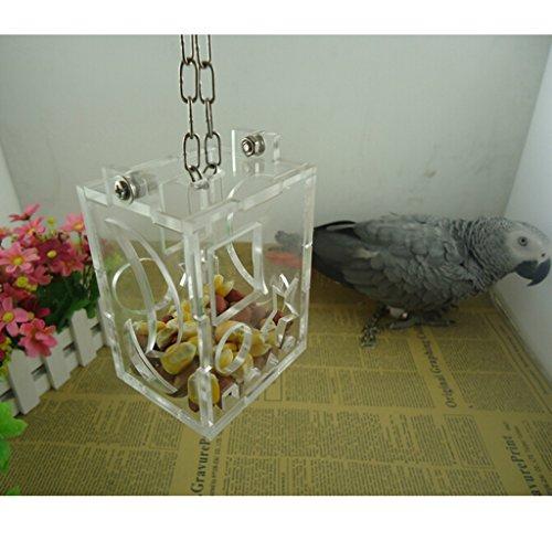 bo te nourriture alimentation gamelle pour perroquet oiseaux jouet 3 74. Black Bedroom Furniture Sets. Home Design Ideas