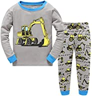 "Tkiames Bambine ""Giraffa"" 2 pezzi Pigiama a maniche lunghe per ragazze Pajama Set 1"