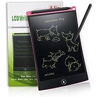 LCD Writing Tablet 8,5-Zoll Digital Schreibtafel Papierlos Grafiktablet von Newyes für Schreiben und Malen (Rosa)