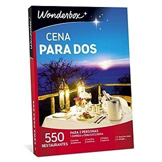 wonderbox caja regalo cena para dos