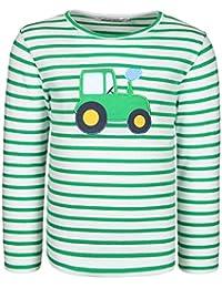 zoolaboo Langarmshirt Jungen Traktor Tobi, Gestreift