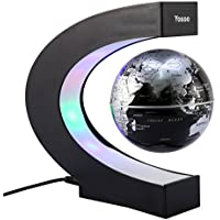 Yosoo Globe terrestre électromagnétique Idéal comme cadeau d'affaires, cadeau d'anniversaire, déco de bureau ou à la maison