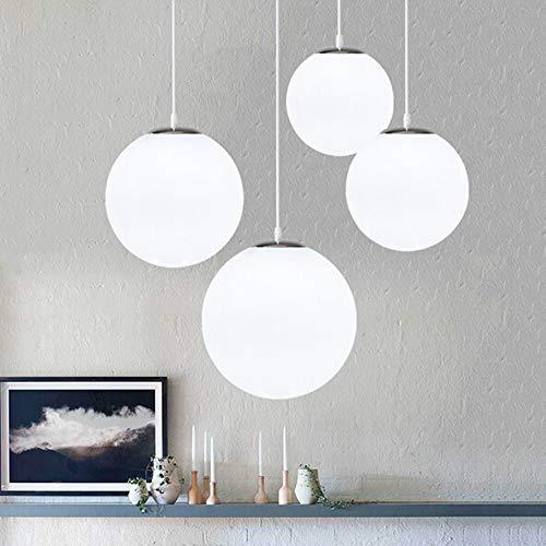 lustre bola de cristal, lámpara colgante, lámpara interior simple pa