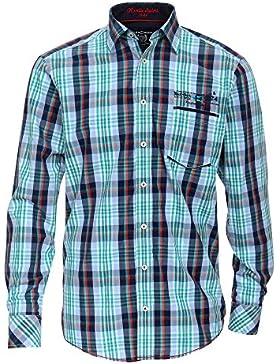 CASAMODA Herren Businesshemd 431860200 Casual Fit