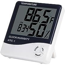Anpro Termómetro Higrómetro Digital/Higrómetro Digital Medidor Temperatura ...