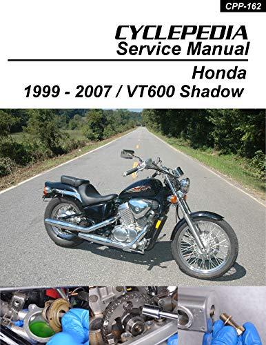 1999-2007 Honda VT600CD Shadow VLX & VLX Deluxe Service Manual (English Edition)