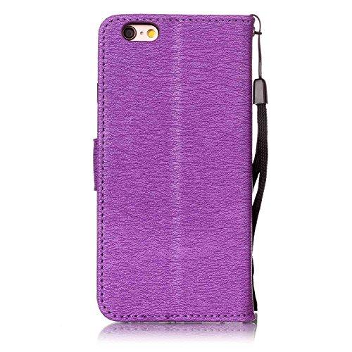 Cover iPhone 6 6s, Sportfun Custodia Portafoglio In Pelle Con Wallet Case Cover Per iPhone 6 6s con Porta Carte e Funzione Stand (01) 05