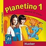 Planetino. Deutsch für Kinder. Audio-CDs zum Kursbuch. Per la Scuola elementare: 1