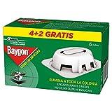 Baygon - Trampa Cebo para Cucarachas y Hormigas, 6 unidades, Blanco
