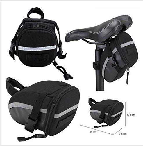 Bici bicicletta ciclismo Outdoor sella portatile borsa sedile posteriore - Atletica Sedile