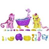 My Little Pony - Pinkie Pie und Fluttershy im Kristall Glitzer Bad - Prinzessinnen Spielset A1699 - Kristall Königreich / Crystal Empire - Hasbro
