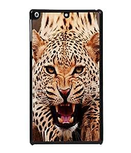 PrintVisa Designer Back Case Cover for Apple iPad 2 :: Apple iPad 3 :: Apple iPad 4 (Carnivore Big Large Cat Mammal Fur Dangerous Illustration)