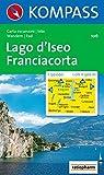 Lago d'Iseo - Franciacorta: Wanderkarte mit Radrouten. 1:50000 (KOMPASS-Wanderkarten, Band 106)