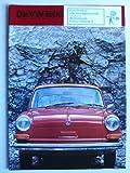 Prospekt/brochure - Die VW 1600 (Fließheck, Limousine, Variant)