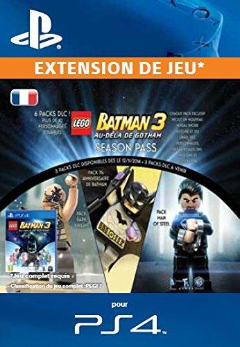 LEGO Batman 3: Beyond Gotham Season Pass [Code Jeu PSN PS4 - Compte  français]