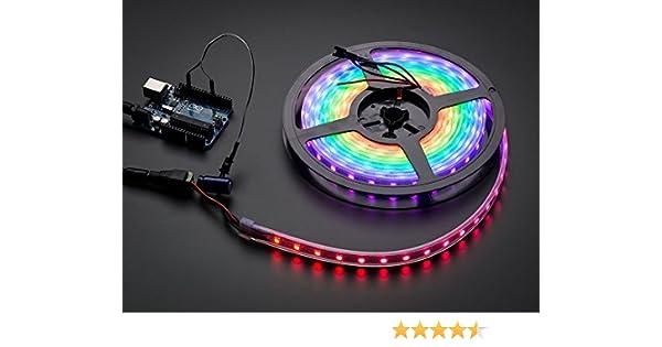Adafruit NeoPixel Digital RGB LED Strip White 60 LED ADA1138