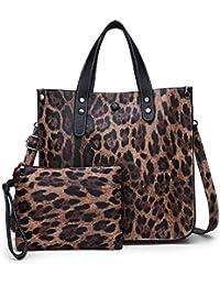 1abef17c07 JTSYHsignora leopardata unica borsa due pezzo serie madre borsa