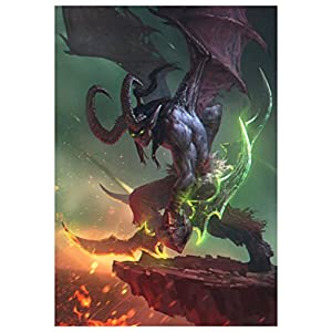 World of Warcraft – Illidan A3 Poster