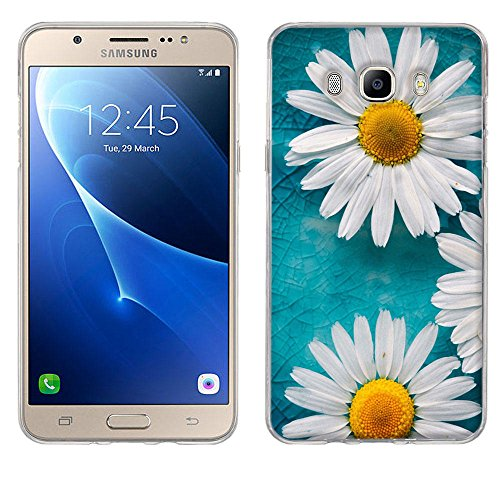 Samsung Galaxy J7 2016 Hülle Case, Fubaoda Galaxy J7 2016 Case, [Zwei Mutterkraut] Silikon Soft TPU Crystal Clear Premium Durchsichtig Handyhülle Schutzhülle Case Backcover Bumper Slimcase für Galaxy J7 2016