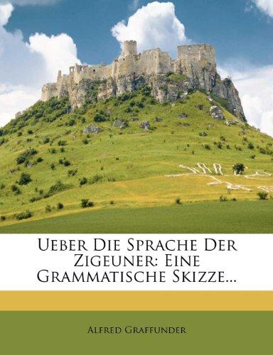 Ueber die Sprache der Zigeuner: Eine grammatische Skizze