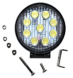 Best Off Road Su Vs - 27W 9 LED Offroad Floodlight Reflector Lamps Work Review