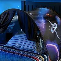 Superior_Lifes 1PC Dream World Tent, Tente de Pliage d'intérieur pour Enfants Fancy Dream (avec lumières LED)