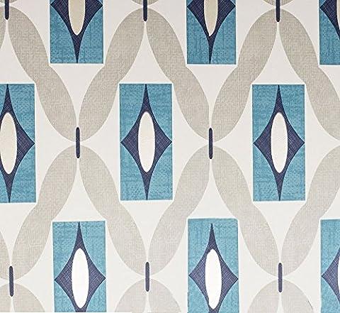 Arthouse 640702 Quartz Wallpaper, Teal