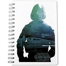 """Cuaderno de notas DIN A5 Star Wars: Epidodio VII - The Force Awakens/ El Despertar de la Fuerza """"Poe Dameron"""""""