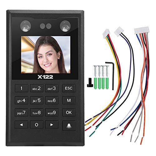Access Control System Time Recorder, 2,8 Zoll TFT Gesicht Fingerabdruck Passwort Kennworterfassung Zutrittskontrollsystem, Fingerabdruck Zeiterfassung mit 4 x 4 Tastatur Access Control Device