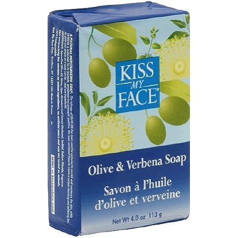 De oliva y lavanda barra de jabón 8 oz (230 g) - Kiss My Face