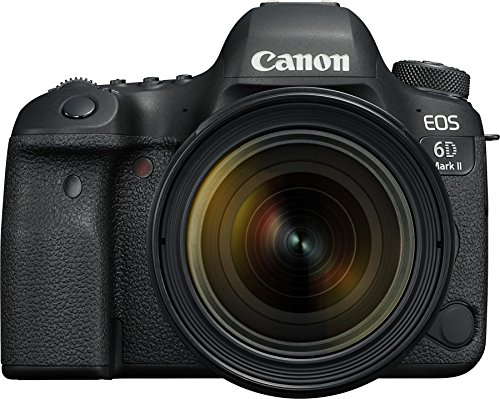 Canon EOS 6D Mark II 26.2MP Digital SLR Camera + EF 24-70mm f/4L USM Lens