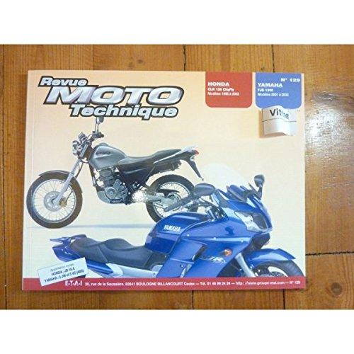 Ré-édition - CLR125 FJR1300 Revue Technique moto Honda Yamaha Etat - Bon Etat