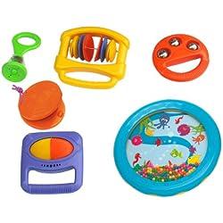 Voggenreiter 549 - Das Baby-Rhythmus-Set zum 1. Geburtstag, 6teilig