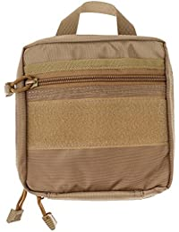 Phenovo Tactical MOLLE EDC Pouch Outdoor Multi-Purpose Utility Accessory Bag Tan