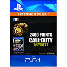 Call of Duty: WWII - 2400 Points DLC | Code Jeu PS4 - Compte français