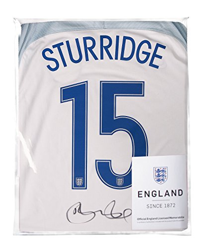 Daniel-Sturridge-Official-England-Back-Signed-2016-17-Home-Shirt