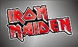 Aufkleber - Sticker Iron Maiden hip hop rap jazz hard rock pop funk sticker
