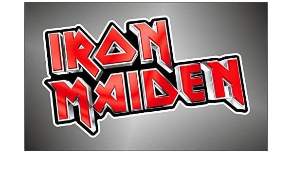 Graphic-lab Aufkleber Sticker Iron Maiden hip hop Rap Jazz Hard Rock Metal pop Funk Sticker