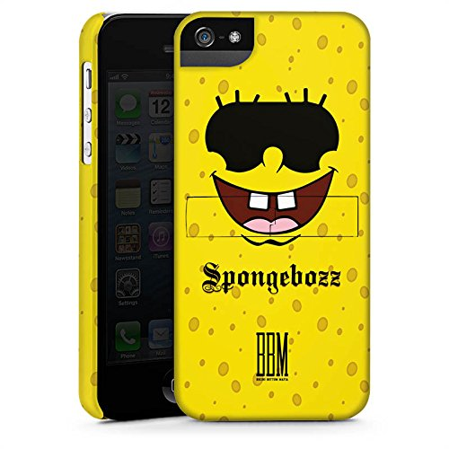 Apple iPhone X Silikon Hülle Case Schutzhülle Spongebozz BBM Fanartikel Merchandise Premium Case StandUp