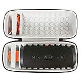 Khanka EVA Difficile Caso Viaggiare trasportare sacchetto per JBL Charge 4 Speaker Bluetooth (nero)