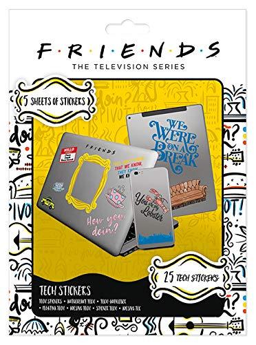 Pyramid International Friends - Tech Sticker How You