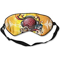 Music Note Sleep Eyes Masks - Comfortable Sleeping Mask Eye Cover For Travelling Night Noon Nap Mediation Yoga preisvergleich bei billige-tabletten.eu